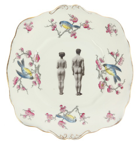Melody Rose ceramics bare bottoms plate