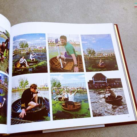 The Gentle Authors London Album 2013-coracle race