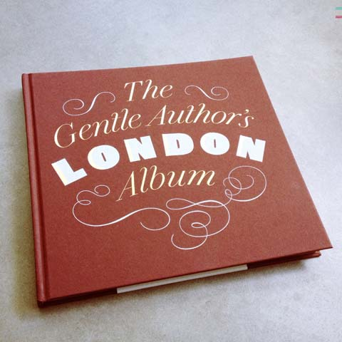 The Gentle Authors London Album 2013-cover