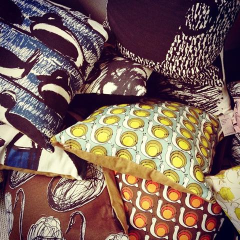 Gallery Bobbin cushions