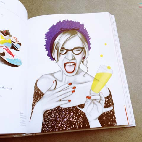 Illustration Now! Fashion by Taschen 2013 review Nicole Jarecz