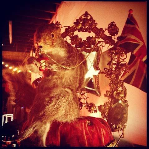 Jessica de Lotz squirrel Secret Emporium Christmas Market