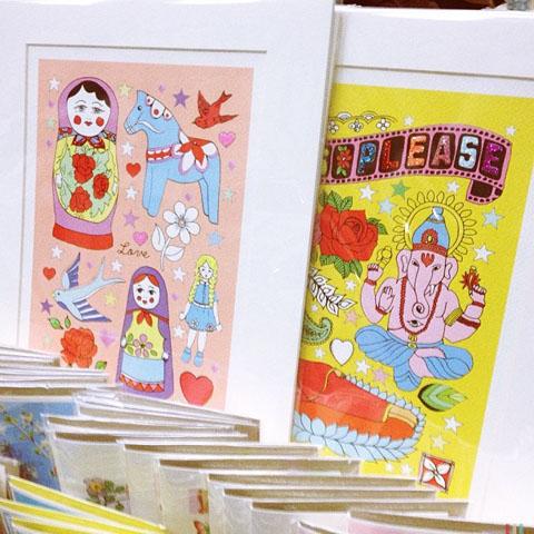 Rosie Wonders prints