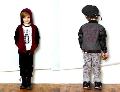 Ruff and Huddle varsity jacket with zakee shariff