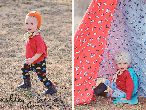 Slugs and Snails tights for boys