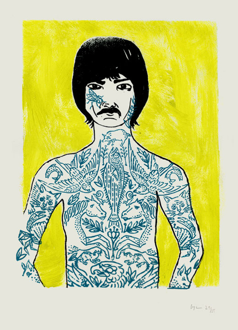 Tattoo Man by Eliza Fricker