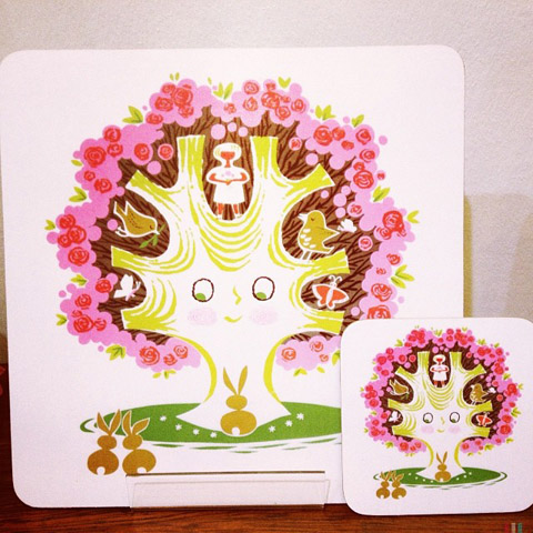 Beast In Show Daphne Padden coaster set