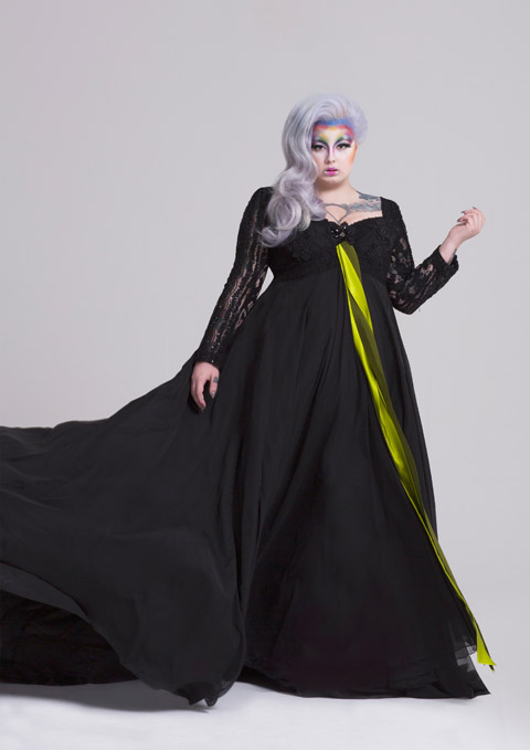 Ziad Ghanem couture collection Zoe Black dress