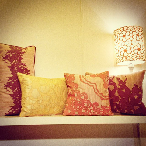 cushions by iozzolinodesign by Gabriella Strano.