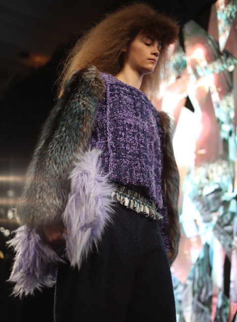 Barbara Kolasinski AW 2014-purple top