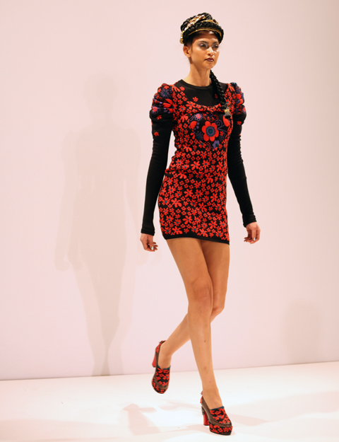 George Styler AW 2014-mini dress