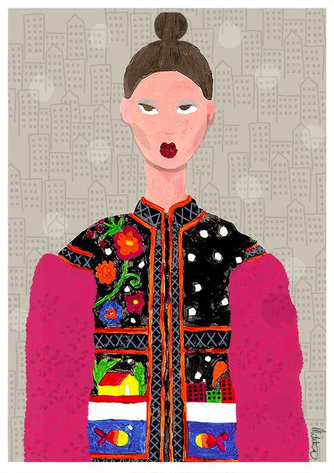 George Styler A/W 2014 by Mitika Suri