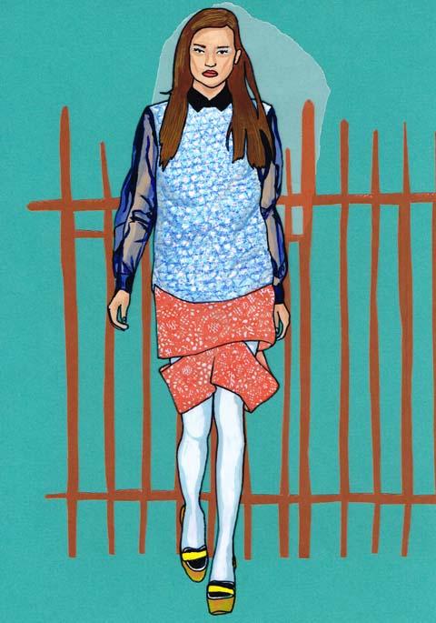 Michael Van Der Ham A/W 2014 by Antonia Parker