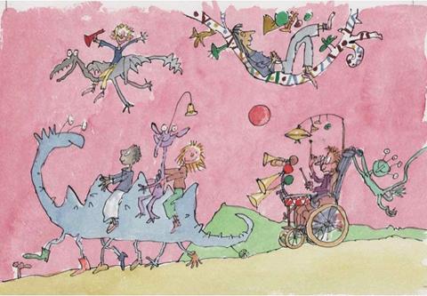 Quentin Blake  - children fantasy