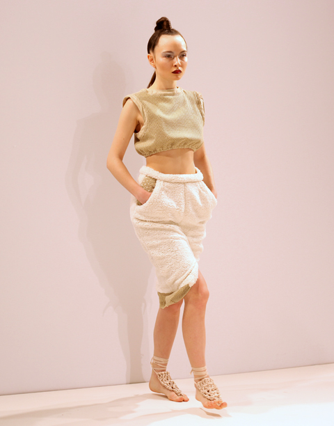 Sarah Ryan AW 2014-crop top