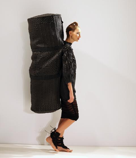 Sarah Ryan AW 2014-giant bag