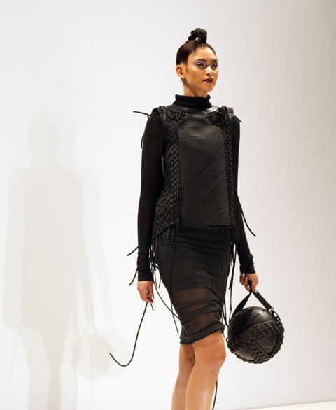 Sarah Ryan AW 2014-round bag
