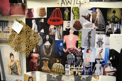 Vita Gottlieb AW 2014 mood board