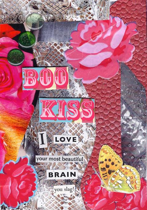 jenny robins - valentine - boo kiss