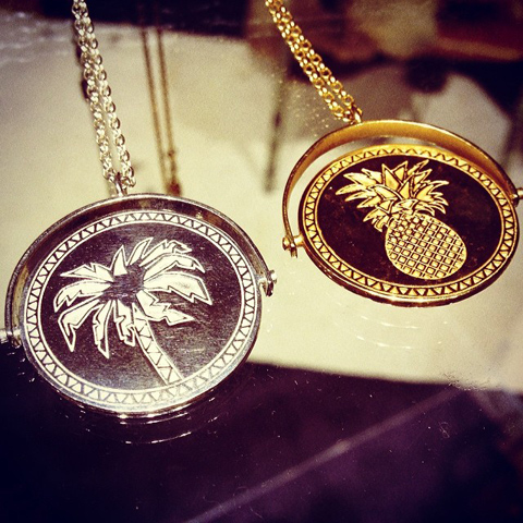 Alexa de Castilho necklaces