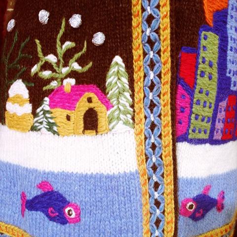George Styler knitwear