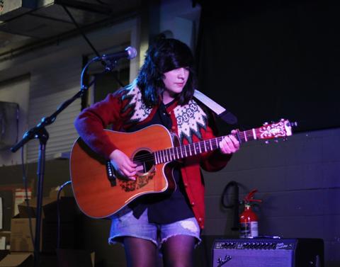 Joana Serrat 2014-Rough Trade East live gig, photography by Amelia Gregory