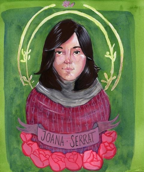 Joana Serrat by Amelia Gossman