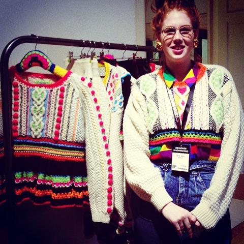 K2 knitwear design
