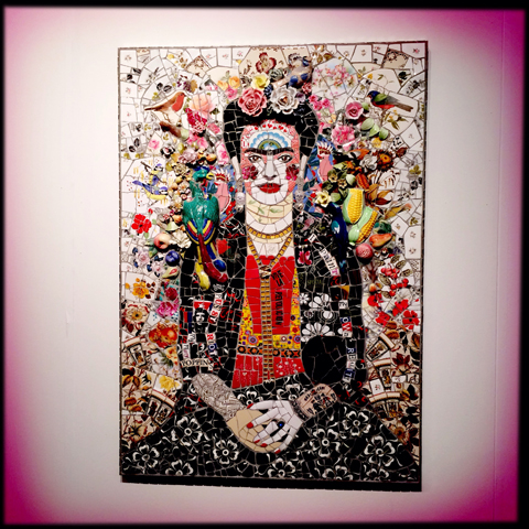 London Art Fair review 2014-frida kahlo