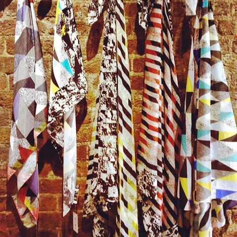 Mury print scarves