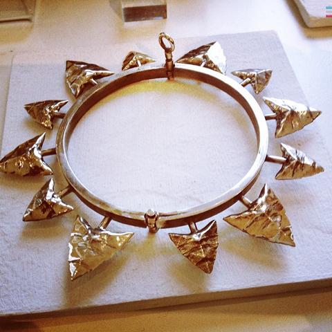 Rachel Entwistle flint bracelet