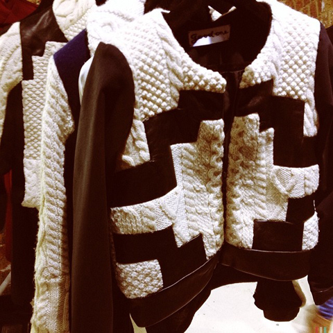 goodone bomber knit