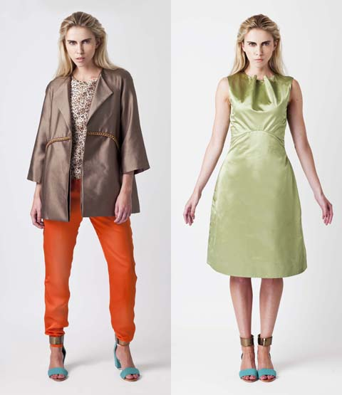 Anna Popovich Julius Coat Alexas Trousers -Anthony Dress