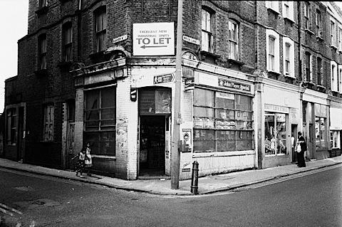 Brick Lane, photo by Phil Maxwell corner
