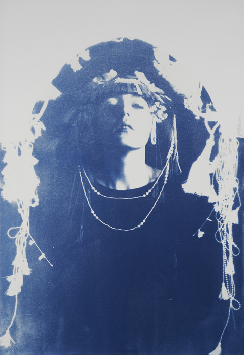 Isis by Rosie Emerson, Cyanotype, 112cm x 76 cm