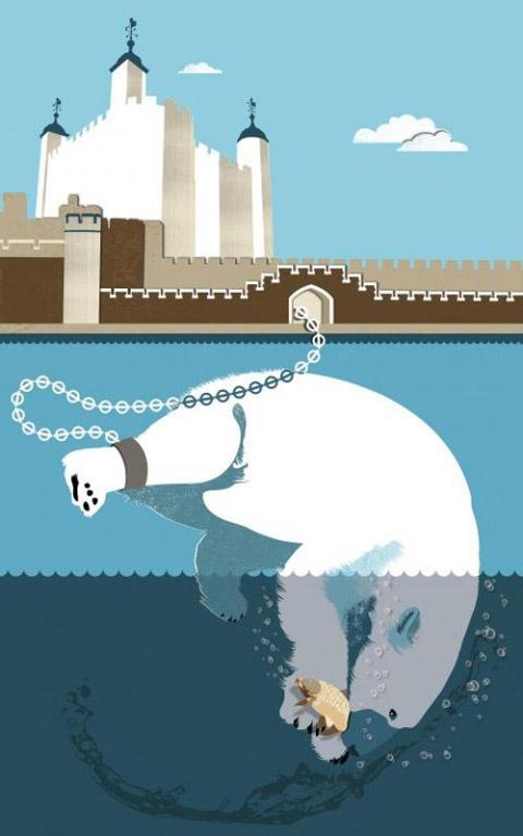 London-Stories-White Bear - Paul Garland