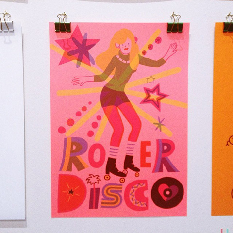 Pick Me Up - Jessica Das roller girl