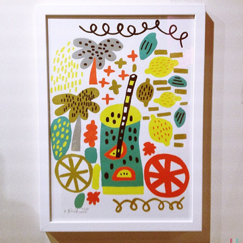 Pick Me Up London graphic arts exhibition 2014 review Billy