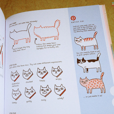 Pinterest Perfect review 2014-Gemma Correll cats