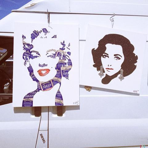 Art car boot fair prints