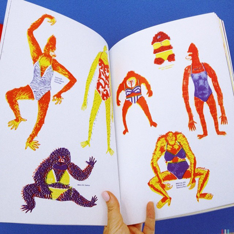 Jack Smith's monkey bikini catalogue, Kingston uni
