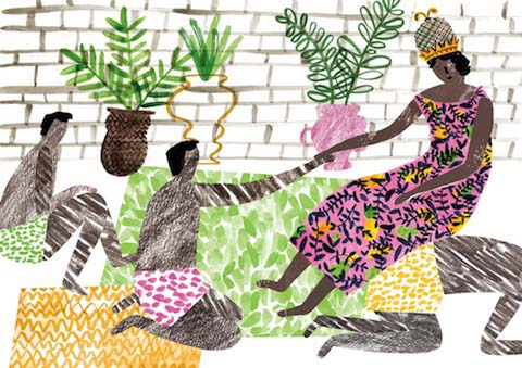 Sister Like You, Queen Njinga Mbande by Charlotte Trounce
