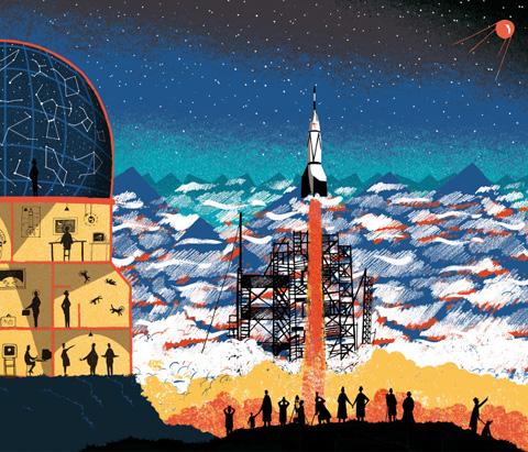 Tom Clohosy Cole Space Race