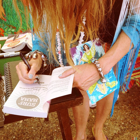 Wilma Johnson surf mama book signing