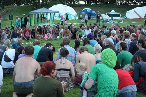 Green Earth closing ceremony