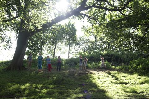 Green Earth Awakening kids