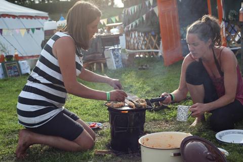 Green Earth Awakening cooking
