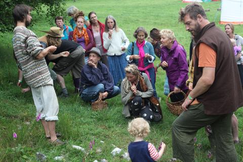 Green Earth Awakening 2014 foraging