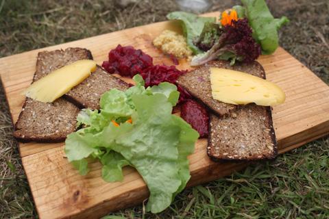 Green Earth Awakening 2014 food