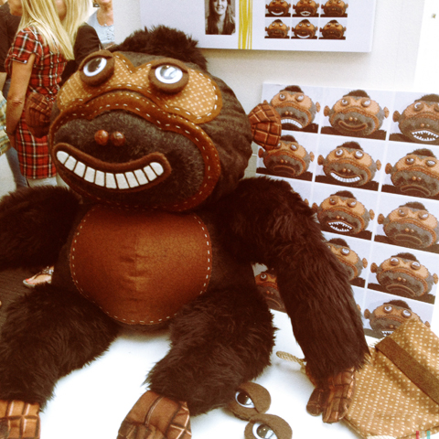 New Designers 2014 -gordon gorilla